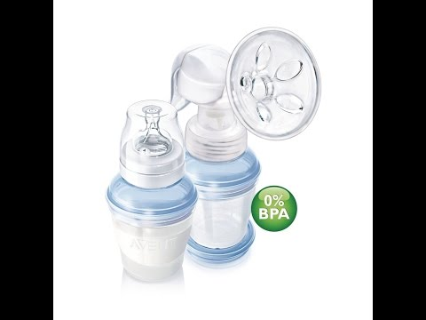 Manual Breast Pump |Philips Avent Breast Pumps Manual Breast Pump Demo