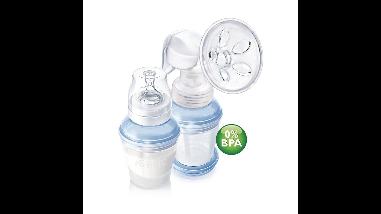 how to use manual breast pump video