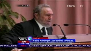 Pemerintah Kuba Tetapkan 9 Hari Masa Berkabung Atas Meninggalnya Fidel Castro - NET 12