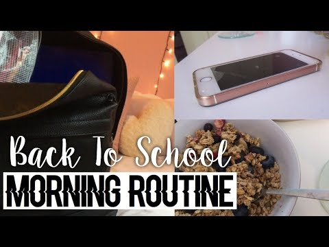 MY SCHOOL MORNING ROUTINE (for sixth form)