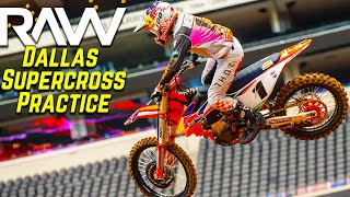 Dallas Supercross Practice RAW…