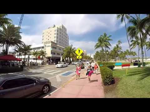 Miami South Beach Ocean Drive 2017