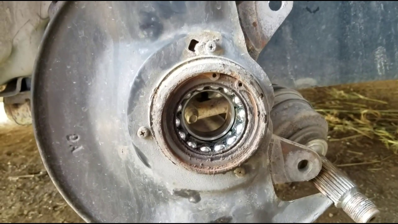 How To - Change Front Wheel Bearings on Honda Fit 2007