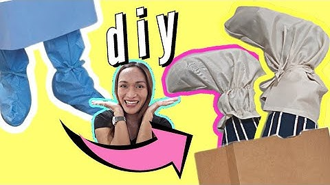 DIY Shoe Cover | PPE COVID-19 | Shoe Cover | Protective Equipment | Corona Virus