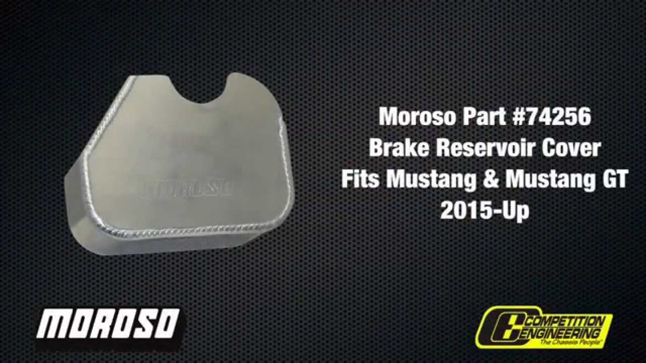 hight resolution of 2015 ford mustang moroso fuse box cover brake reservoir cover installation 74255 74256