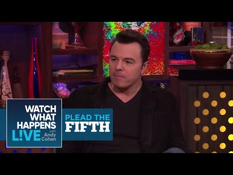 Seth MacFarlane Dishes On Christina Aguilera, Oscars, and Charlize Theron | Plead The Fifth | WWHL