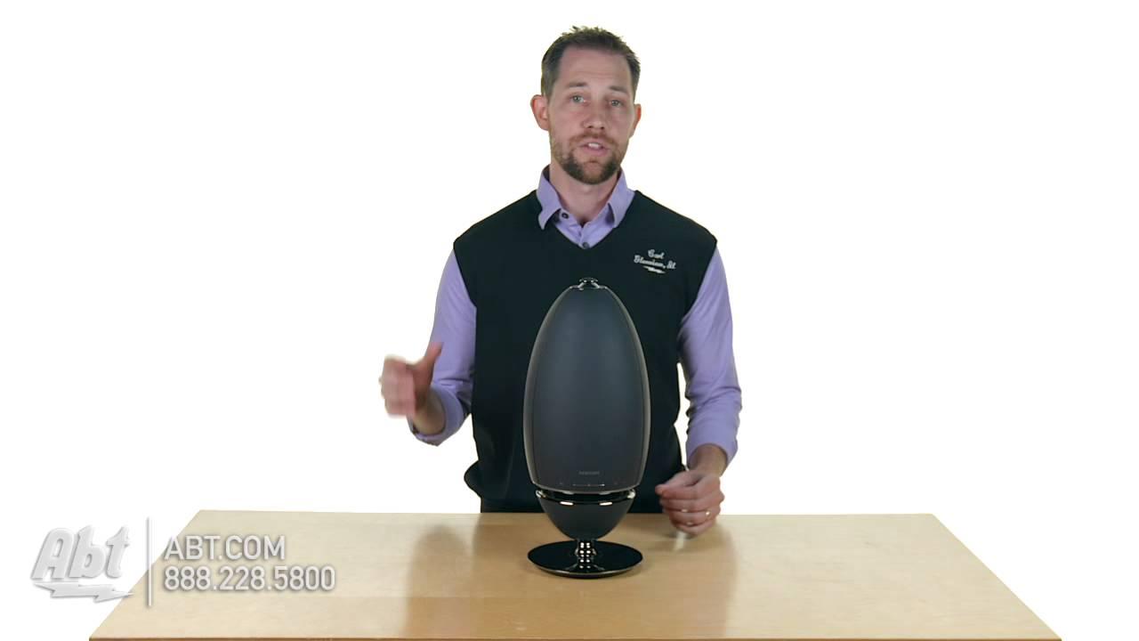 Samsung Black Radiant 360 R7 Wireless Speaker Wam7500 Za