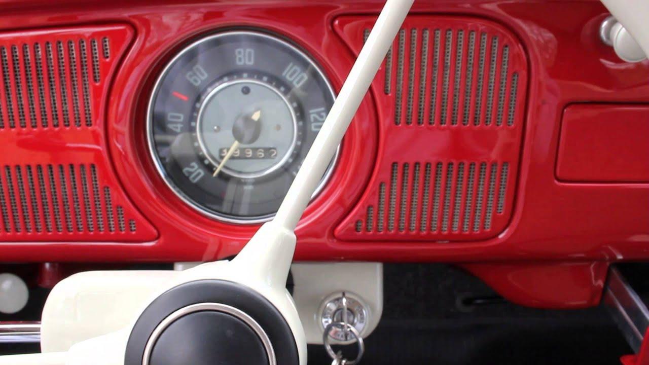 Vw Beetle Sound System 6v Retro Sound Speaker Youtube