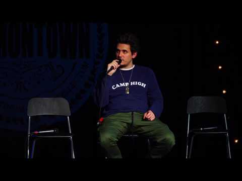 John Mayer raps with Dan Harmon on Harmontown