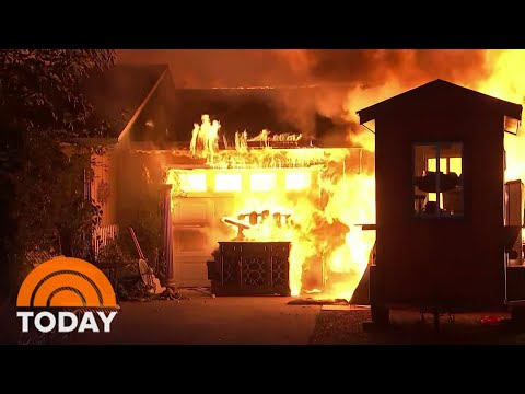 Death Toll Rises In Raging West Coast Wildfires | TODAY