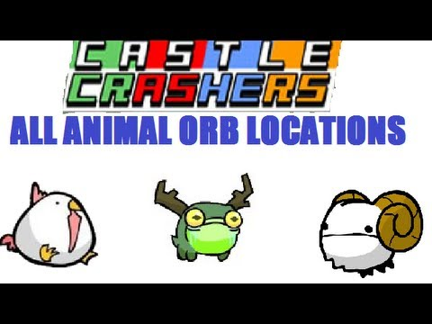 Castle Crashers - All Animal Orb Locations
