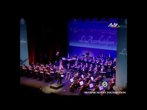A concert by the Azerbaijan State Symphonic Orchestra in Cannes.  July 6,  2013