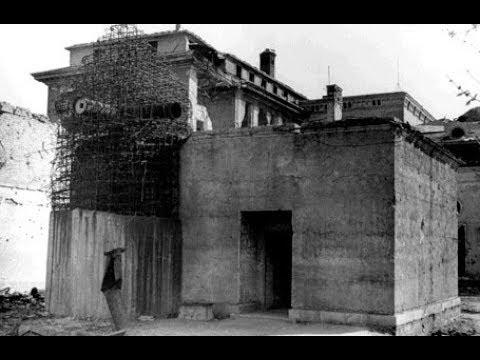 Führerbunker 1945 (rare footage)