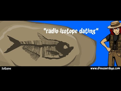 Radio dating fossils video