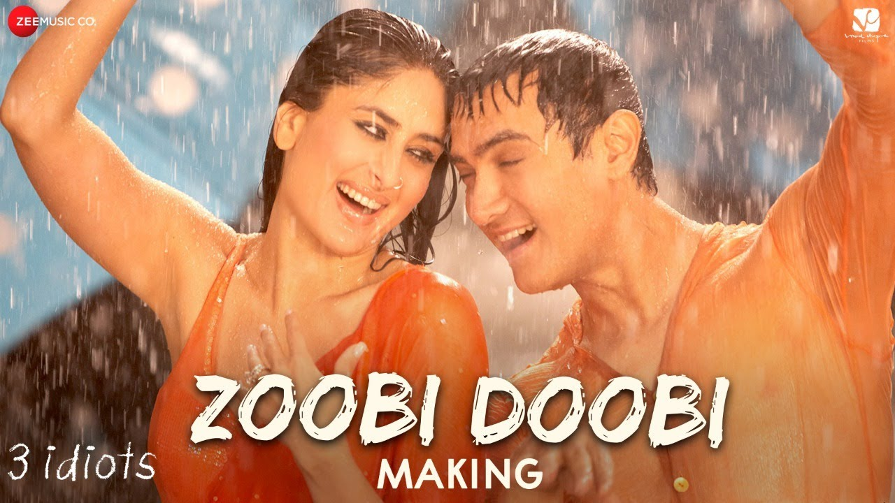 Zoobi Doobi - Making | 3 Idiots | Aamir Khan & Kareena Kapoor | Sonu Nigam, Shreya Ghoshal