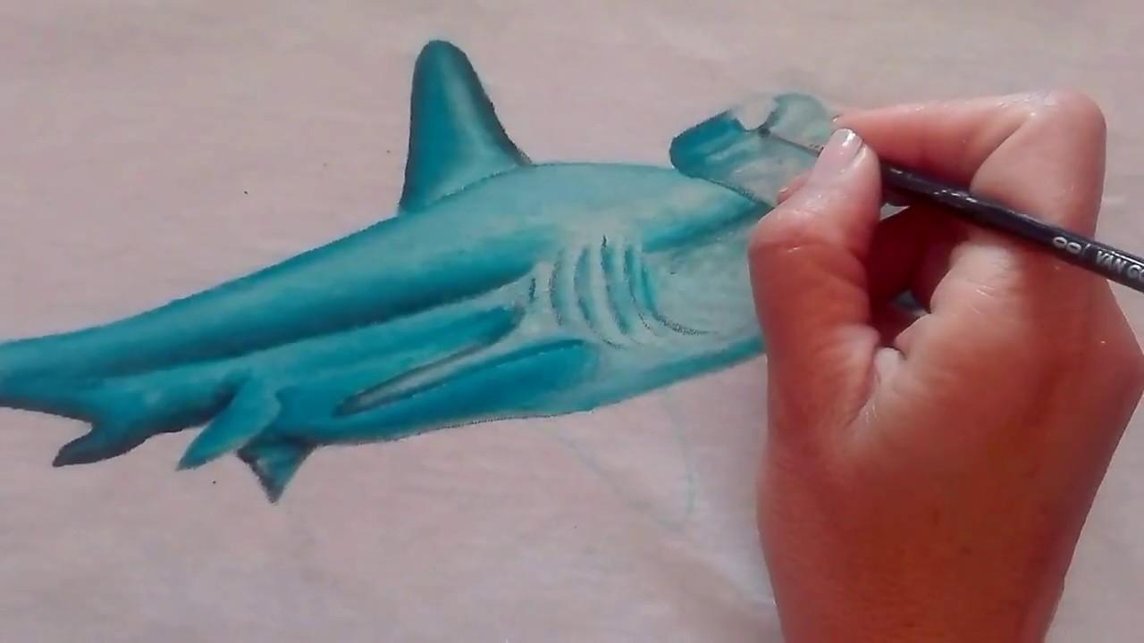 Moderno Grandes Páginas De Colorear De Tiburón Blanco Para Imprimir ...