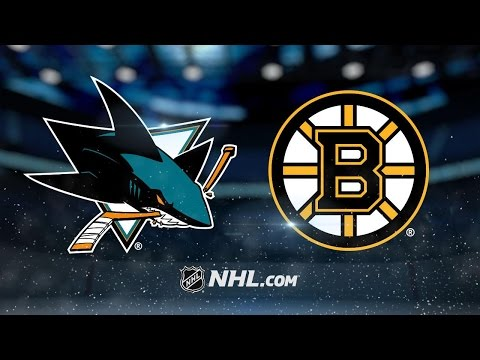 Bergeron, Pastrnak lead Bruins to 6-3 win vs. Sharks