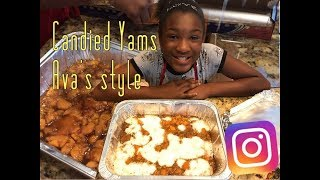 #Howto make #Candied #Yams Ava's style