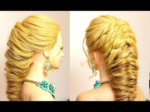 Bridal hairstyles for long hair tutorial