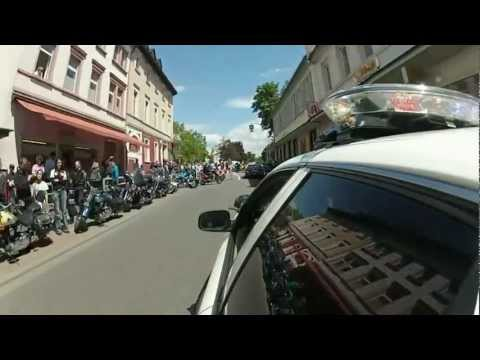 PVOG support : Motorcade with US Police vehicles in Germany