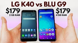 LG K40 vs BLU G9 - Which Offers REAL Value?