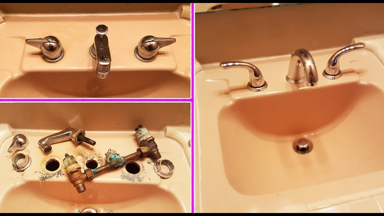How To Remove Old Bath Faucet Replace
