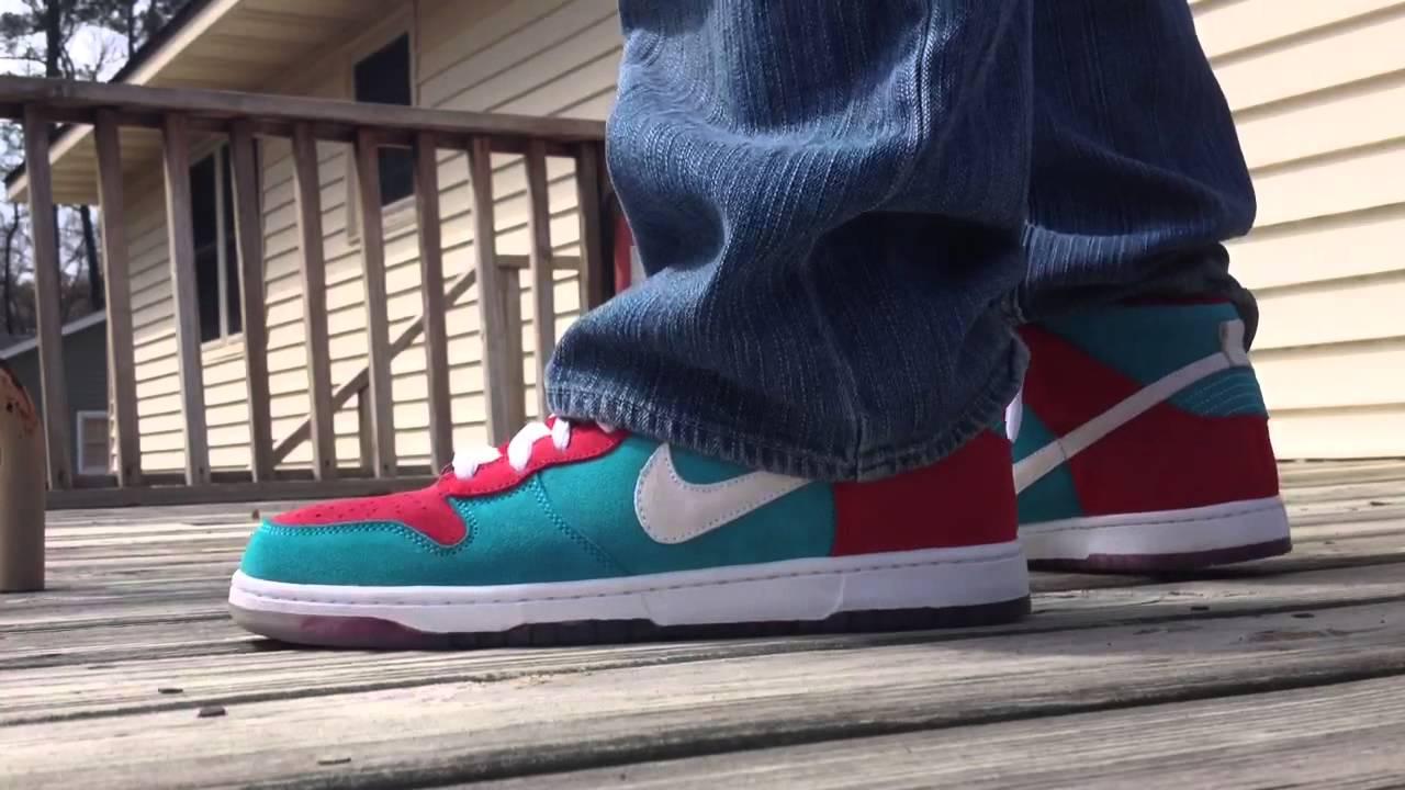 My Feet: Nike Dunk High SB \