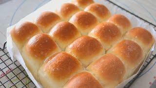 반죽기계없이 쉽고 간단하게 말랑말랑 모닝빵 만들어드세요…