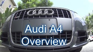 2008 Audi A4 2.0 Turbo POV (HD)--Features & Overview!!