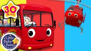 Wheels On The Bus - Helicopter Rescue | + More Nursery Rhymes & Kids Songs | Little Baby Bum