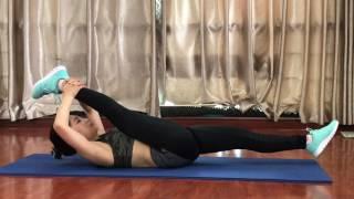 45p giảm cân nhanh phần 5 bài giãn cơ
