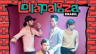 Depois de 2005, 2010 e 2014 a família Followill tocará no Brasil no...