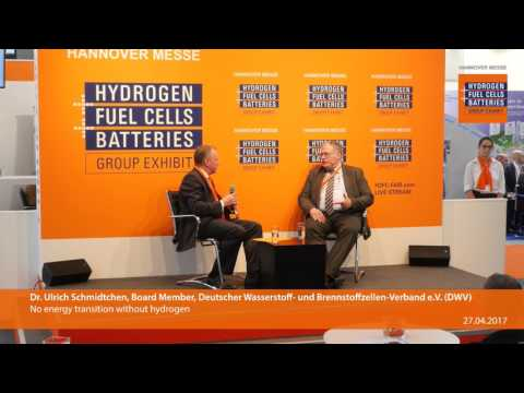 No energy transition without hydrogen