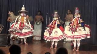 LAVANASURAVADHAM KATHAKALI PART 2