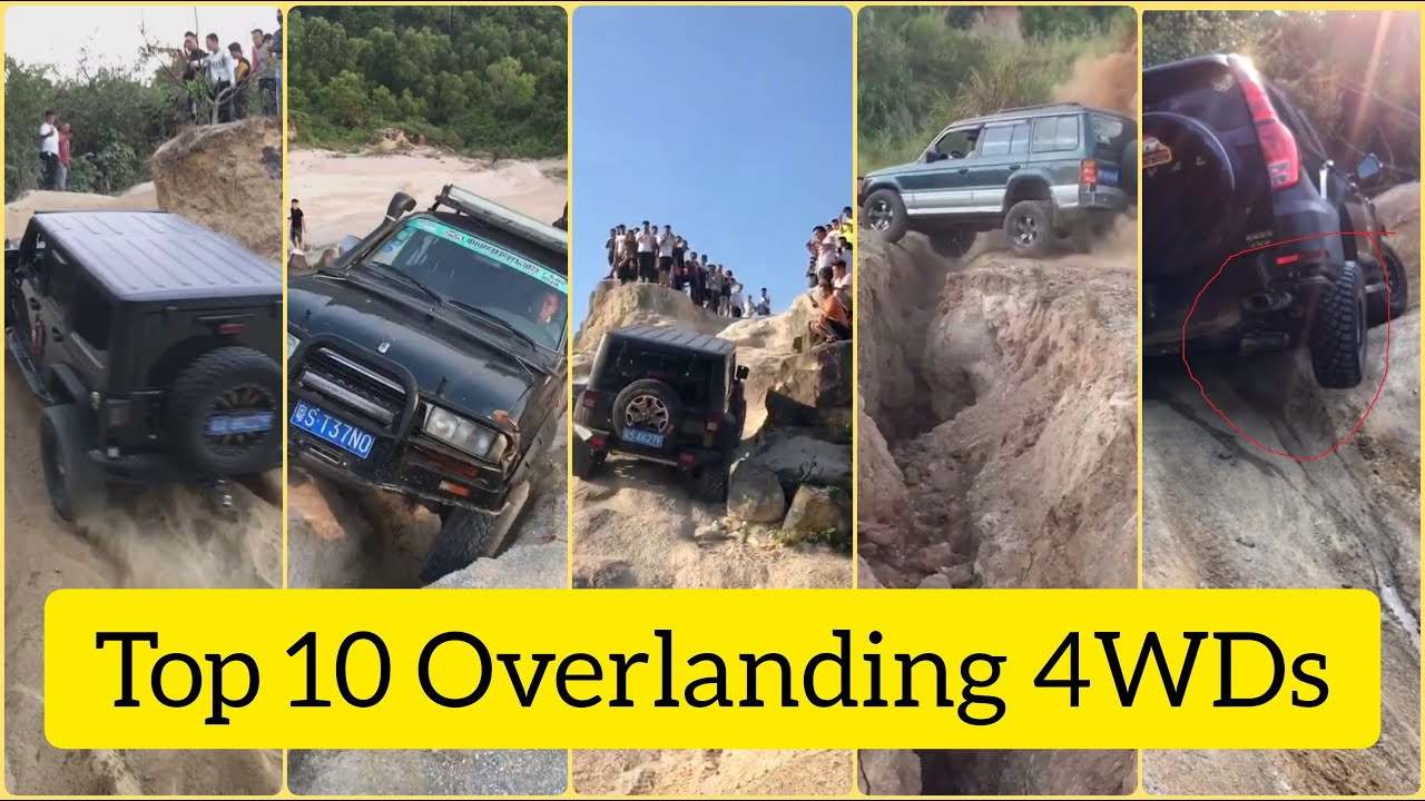 Top 10 Odd 4WD Overlanding Offroad Jeep Do All The Best Part 53
