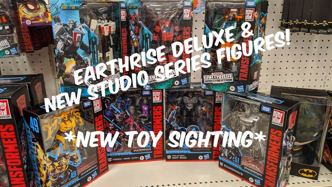 New Earthrise Deluxes and Studio Series Figures in stock at Target by Rodimusbill