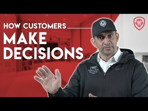 How Customers Make a Decision to Buy Something