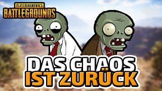 Das Chaos ist zurück... - ♠  Playerunknown's Battlegrounds: Zombies ♠ - Deutsch German - Dhalucard