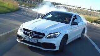 Mercedes-Benz C63s Amg - Тест-Драйв Заднеприводной Бестии! + Замеры!