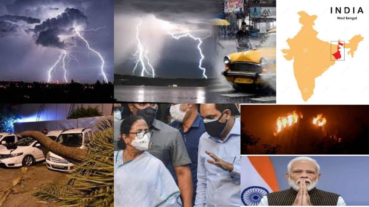 26 killed in lightning in West Bengal, PM announces ₹2 lakh for their families