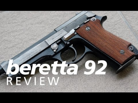 Quickies - the original Beretta 92 (not 92FS or M9)