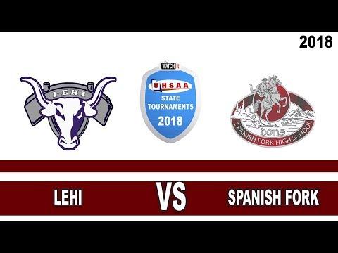 4A Baseball: Spanish Fork vs Lehi High School UHSAA 2018 State Tournament Single Loss Round 3