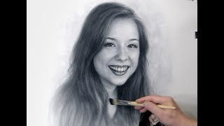 Brittney Karbowski Drawing by Dry Brush