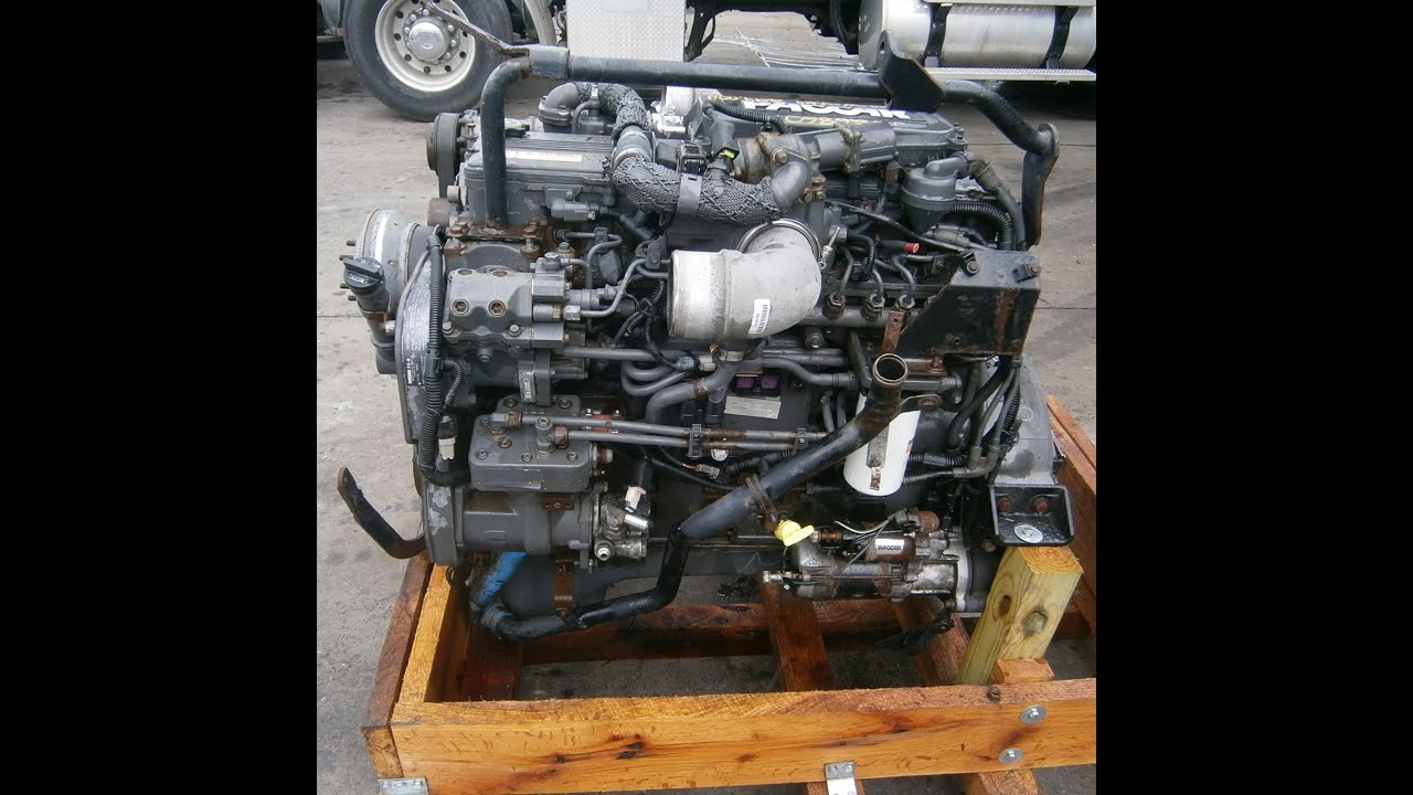 2009 PACCAR PX8 330 HP Engine  YouTube