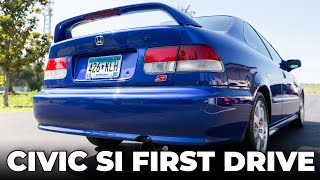 2000 EM1 Honda Civic Si: First Drive