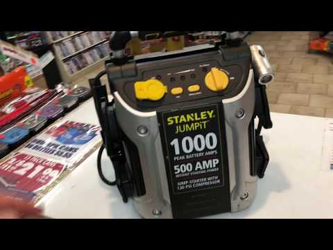how-to-fix-your-stanley-jump-it-starter-box-with-compressor-or-battery-repair-review