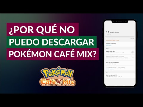 ¿Por qué NO Puedo Descargar Pokemon Café Mix? - No Puedo Jugar a Pokemon Café Mix