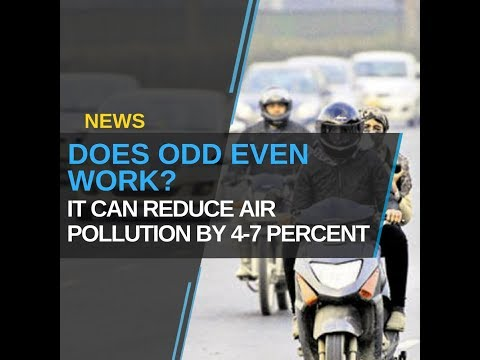 """Odd Even Can Reduce Air Pollution By 4-7 Percent"""
