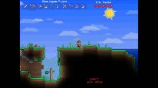 Terraria Adventures: Episode 2 - Building and Mining w/ Zach & Brad
