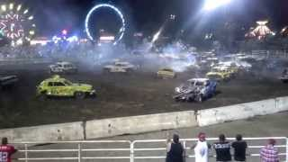 2013 Colusa County Fair full-size car Main Event